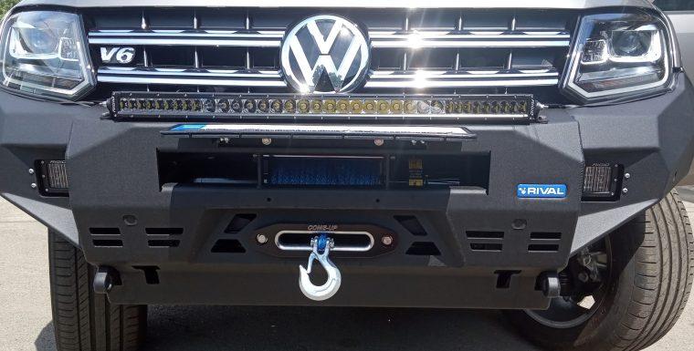 Установка лебедки ComeUp на Volkswagen Amarok