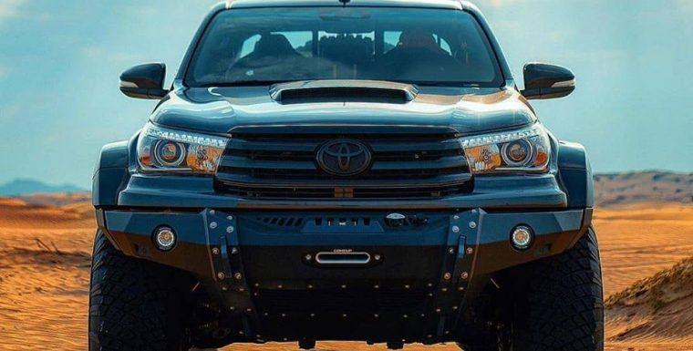 Арабское отделение Arctic Trucks использует лебедки ComeUp