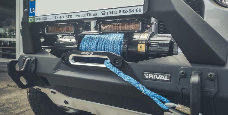 Электрическая лебедка ComeUp DV-9 для Jeep Wrangler